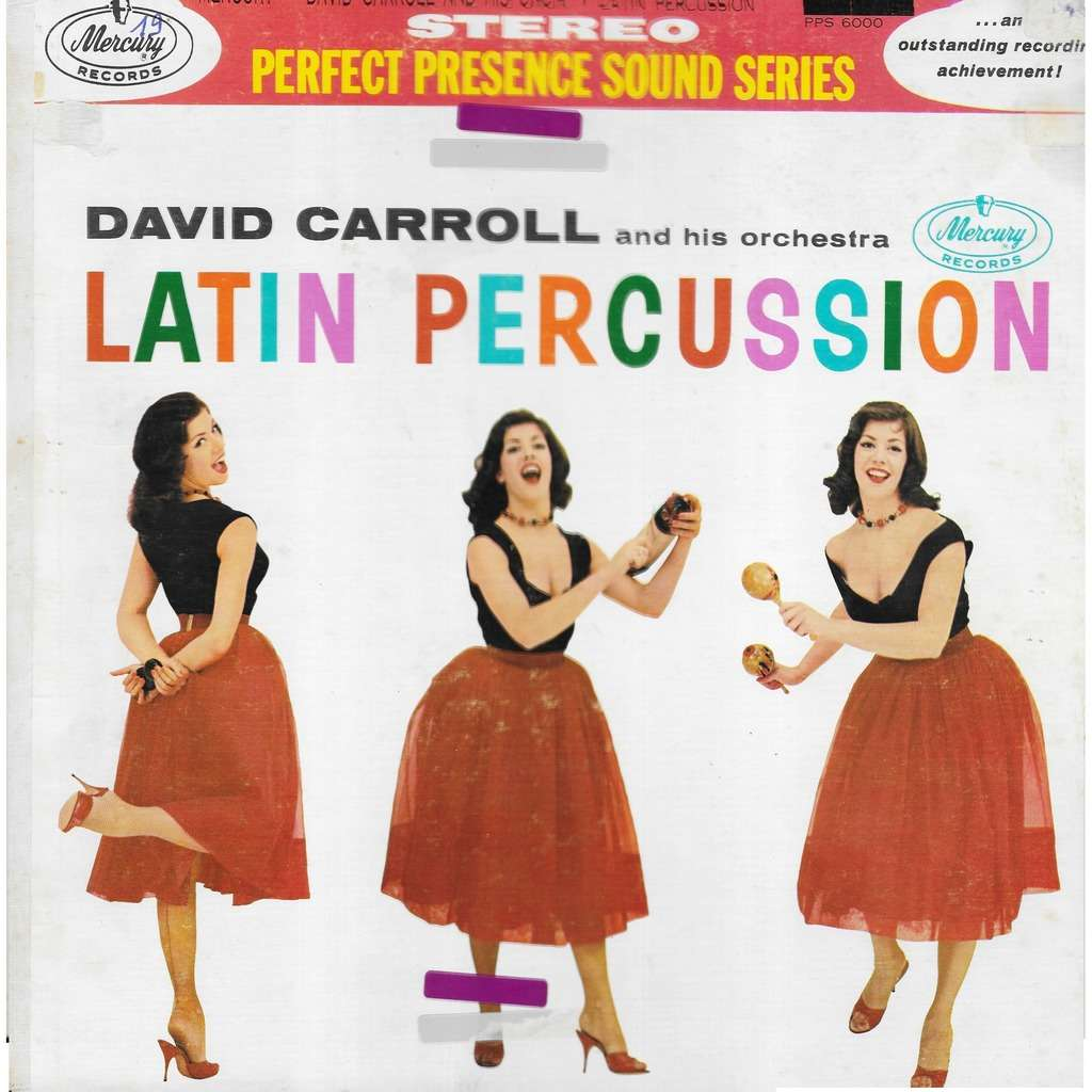 David CARROLL & his orchestra Latin Percussion