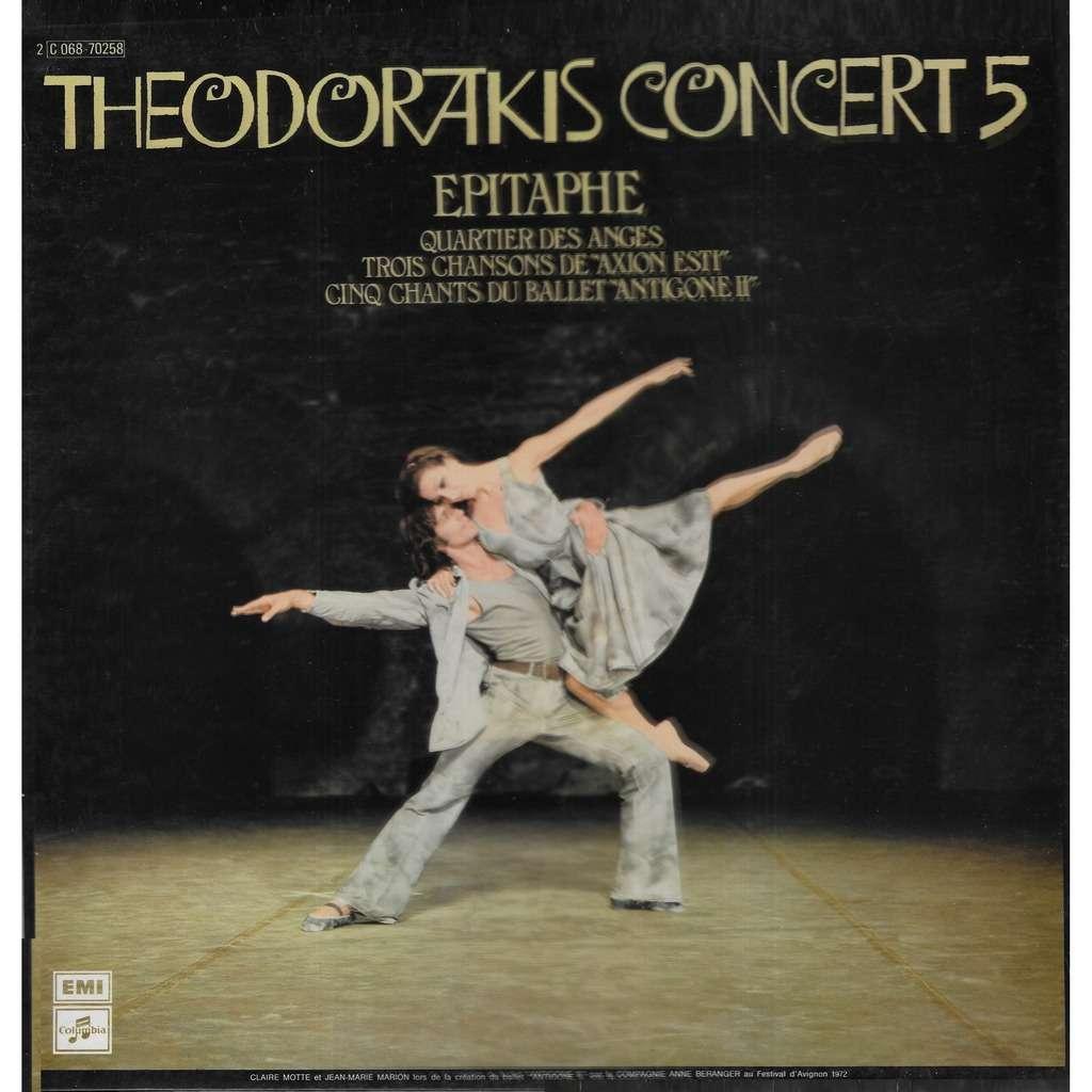Mikis THEODORAKIS Concert 5 - Epitaphe