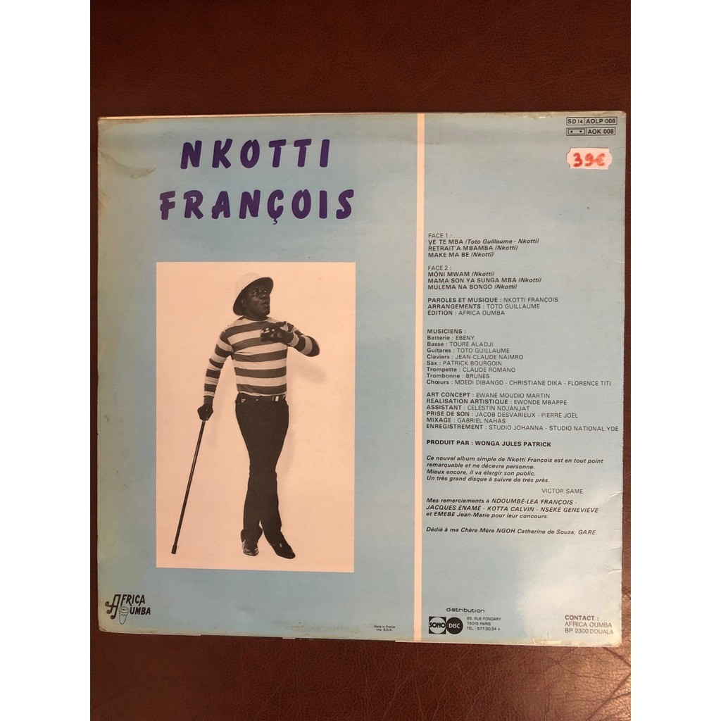 Nkotti François Retrait'a Mbamba