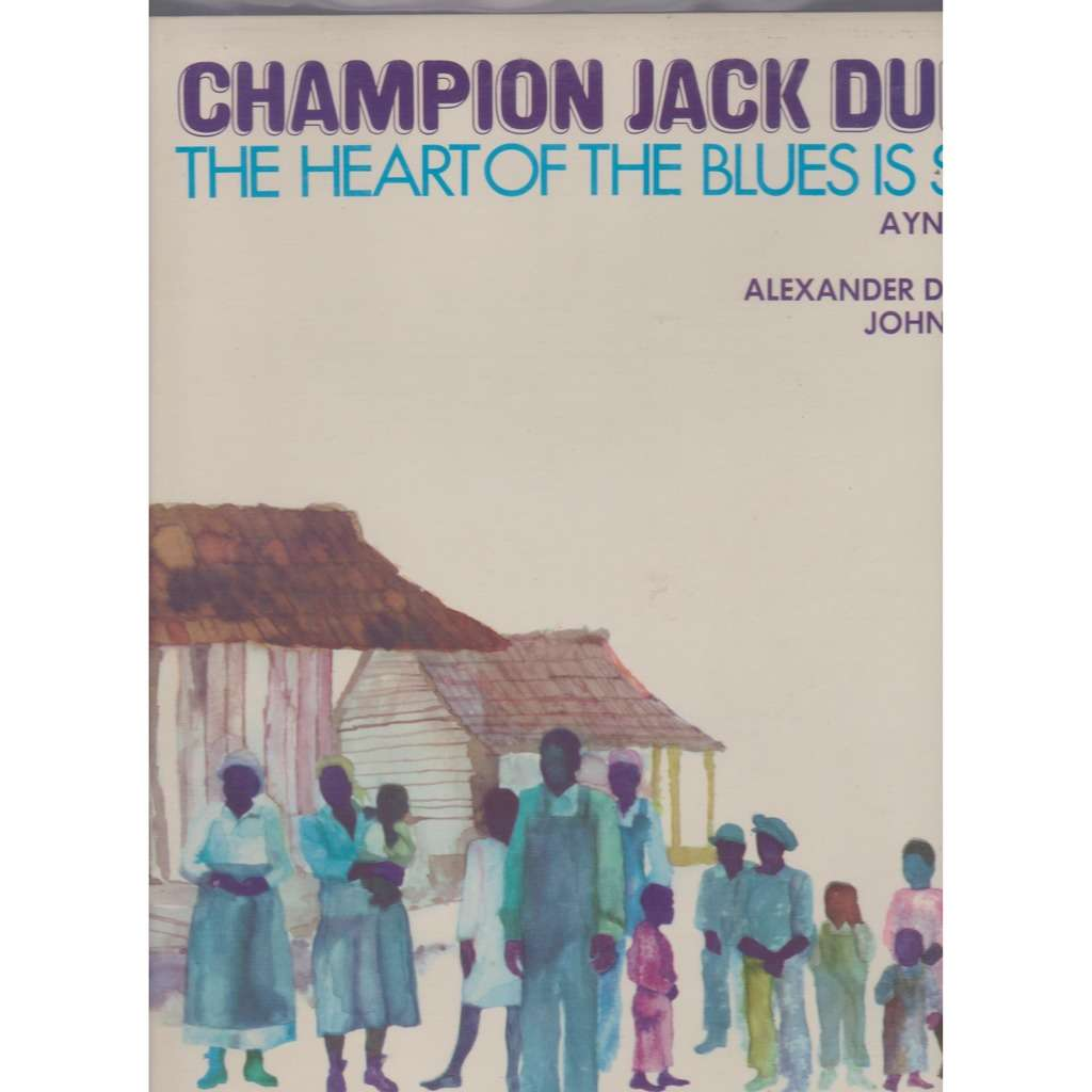 champion jack dupree the heart of blues is sound
