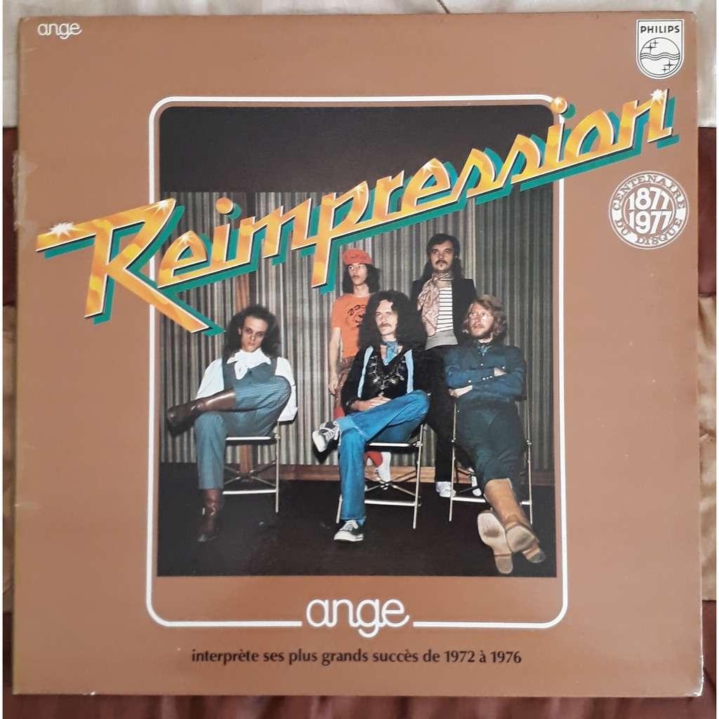 ange interprète ses plus grands succés de 1972 a 1976