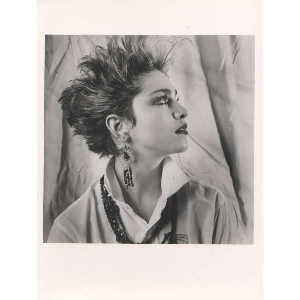 Madonna Madonna #1 (UK 80s original 'London Features' promo photo by Laura Levine)
