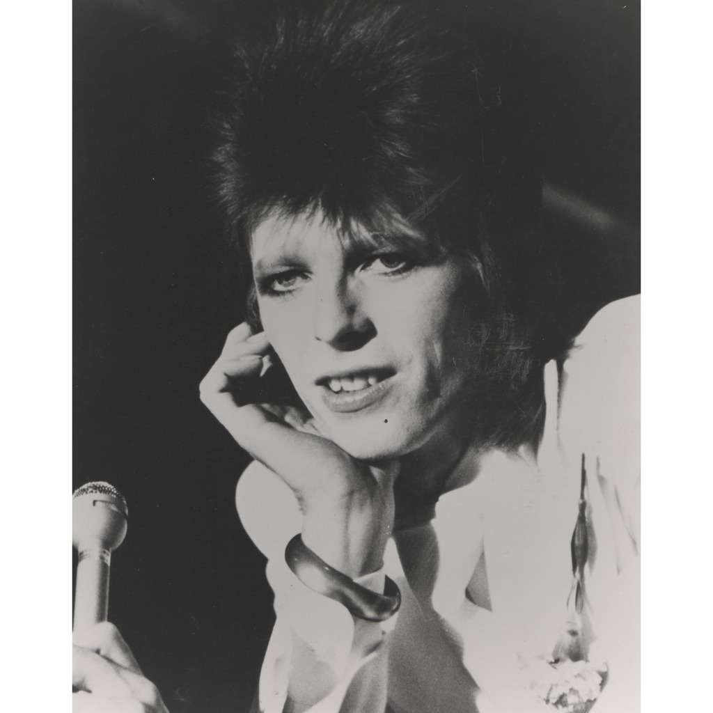David Bowie David Bowie #3 (USA early 70s original 'London Features' promo photo !!)