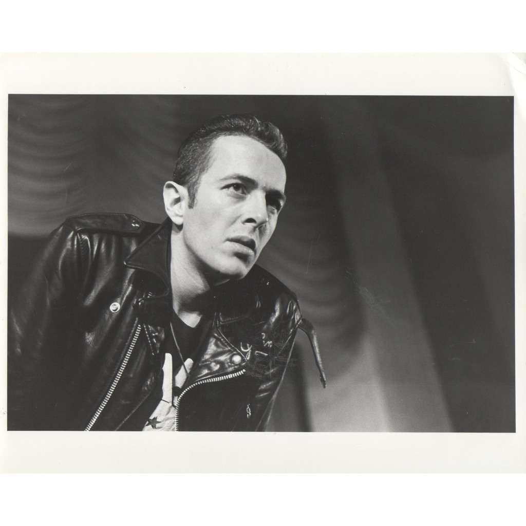 The Clash Joe Strummer (USA 1983 original 'London Features' promo photo by Ann Summa !!)