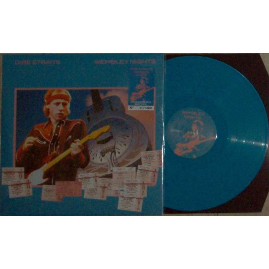 Dire Straits Wembley Nights (London July 1985) (Ltd 400 no'd copies 8-trk live LP TORQUISE wax)