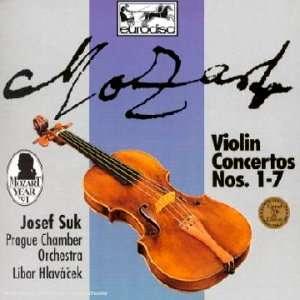 MOZART VIOLIN CONCERTOS 1-7 / JOSEF SUK