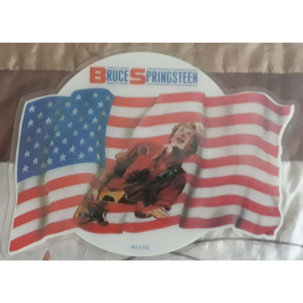 bruce springsteen (picture disc) i'm on fire / born in the u.s.a