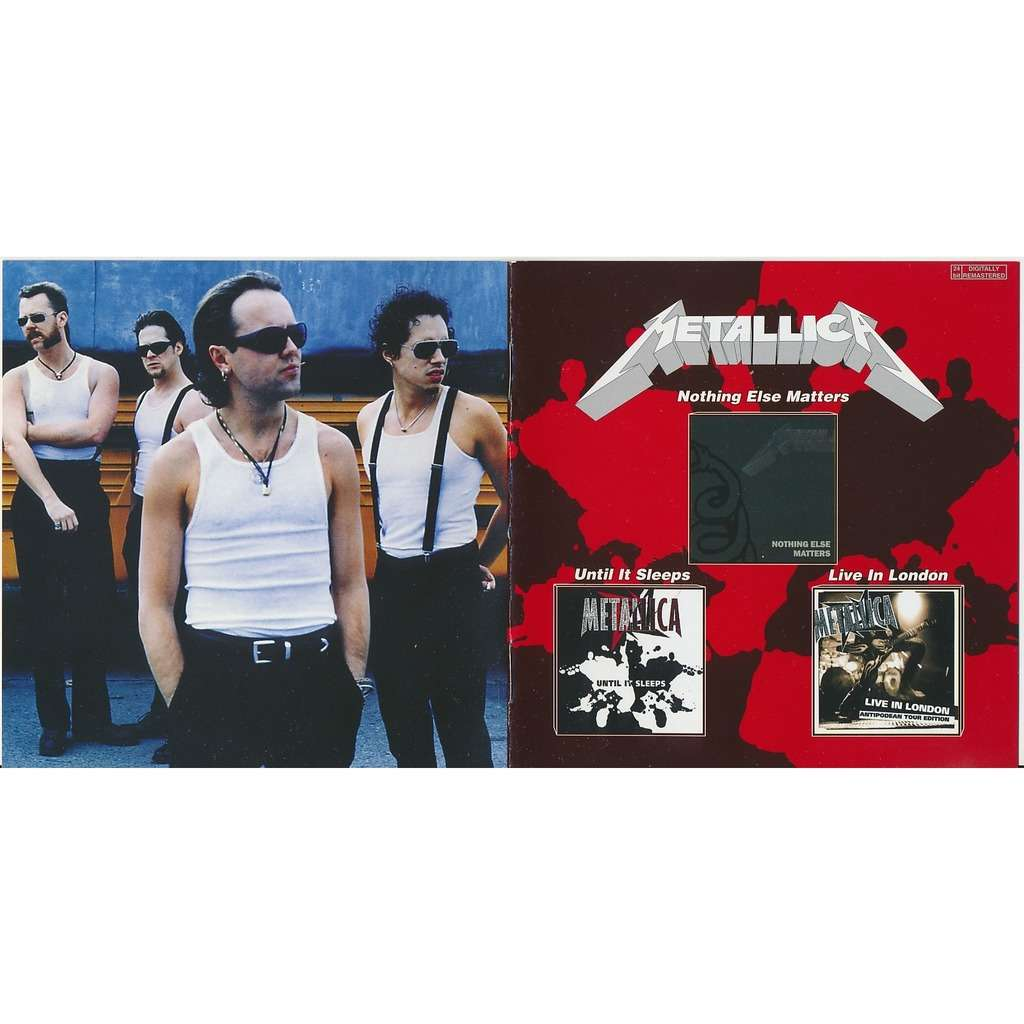 Metallica nothing else matters 1992 + untill 1996 + live in london 1997 (2on1)