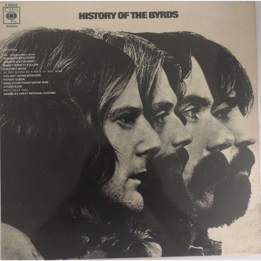 The Byrds - History Of The Byrds (2xLP Comp) The Byrds - History Of The Byrds (2xLP Comp)