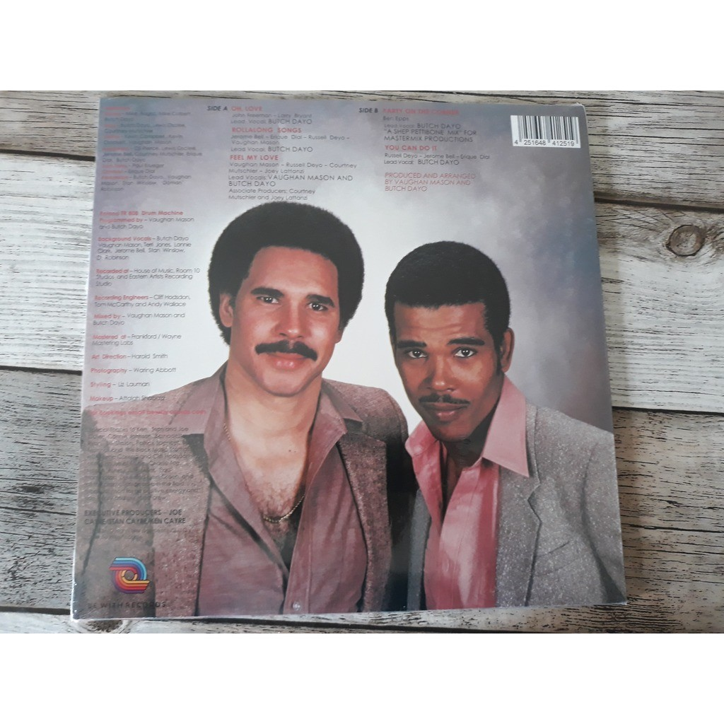 Vaughan Mason And Butch Dayo - Feel My Love (LP, M Vaughan Mason And Butch Dayo - Feel My Love (LP, MiniAlbum, RE)