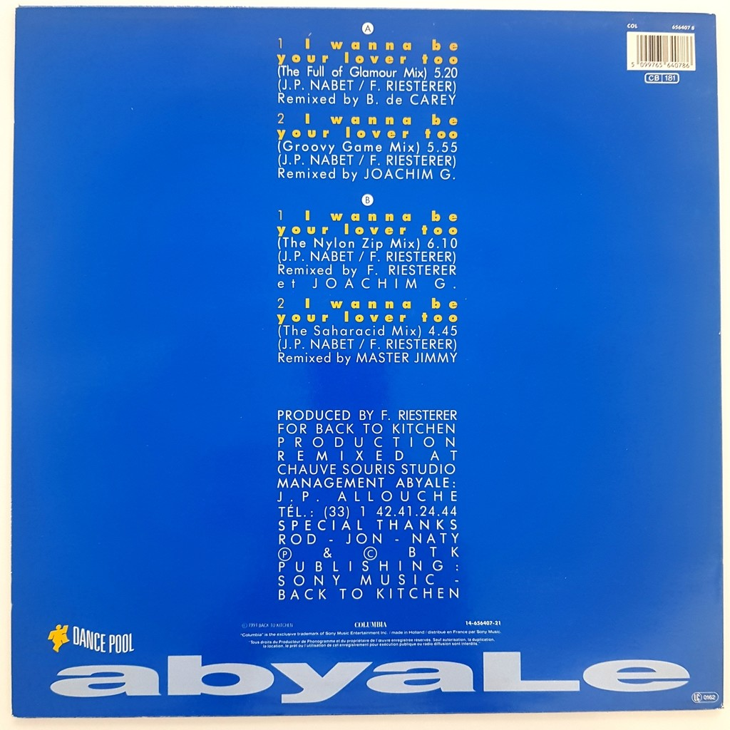 ABYALE ABYALE °° I WANNA BE