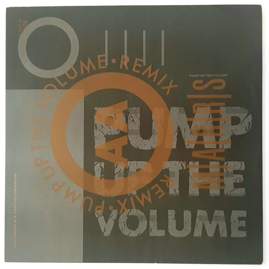 MARRS pump up the volume , remix / anitina (the first time i see she dance)