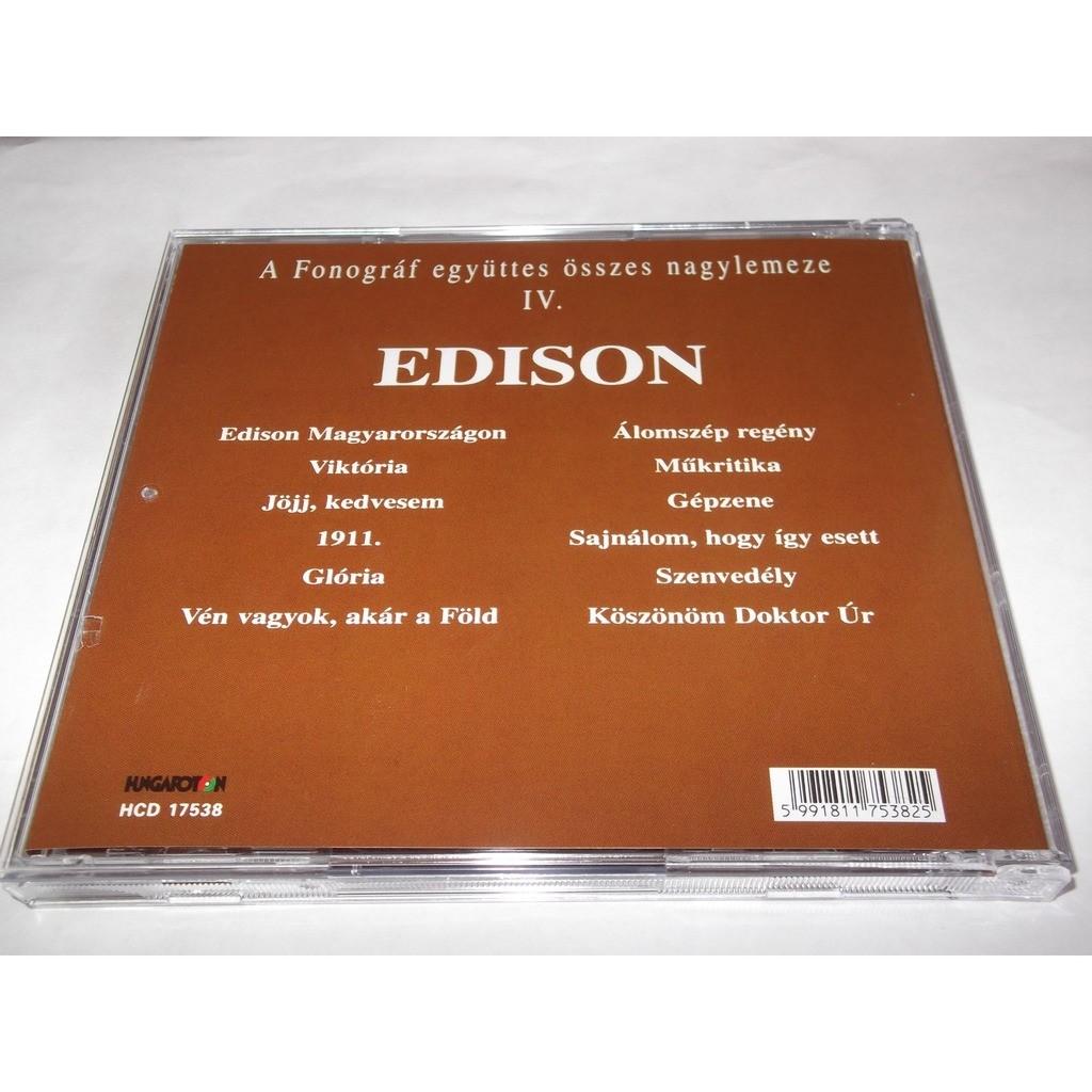 Fonográf (HUNGARIAN FOLK-ROCK) Edison Fonográf Album