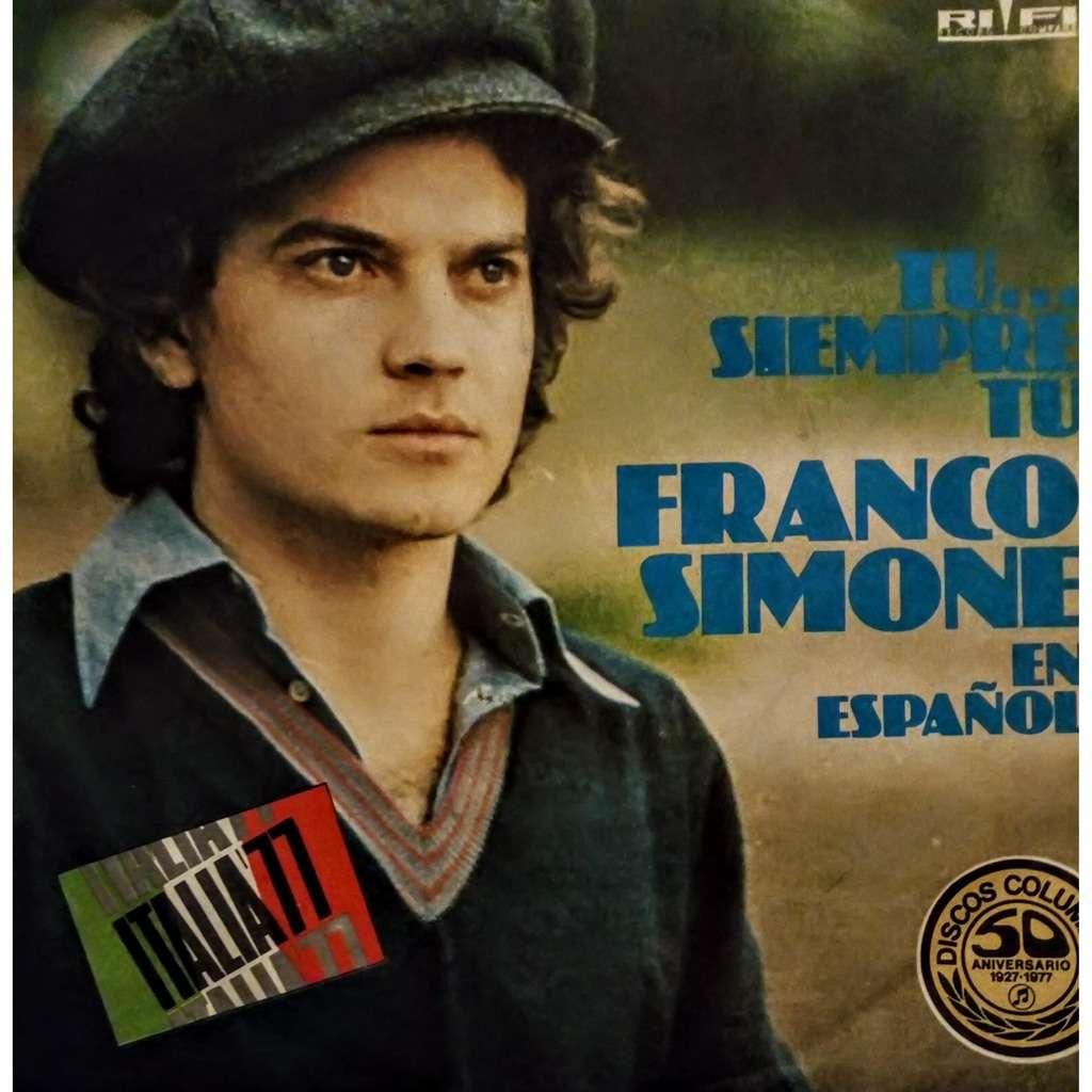 Franco Simone Tu... Siempre Tu (En Español)