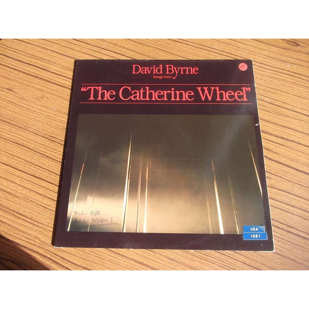 DAVID BYRNE The catherine wheel
