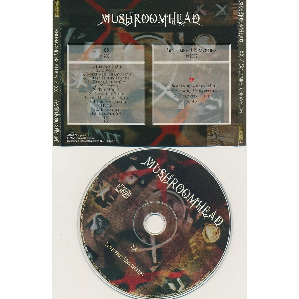 Mushroomhead XX 2001 + solitaire unraveling EP 2002 (2on1)