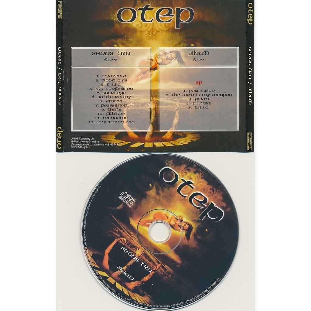 Otep sevas tra 2002 + jihad EP 2001 (2on1)
