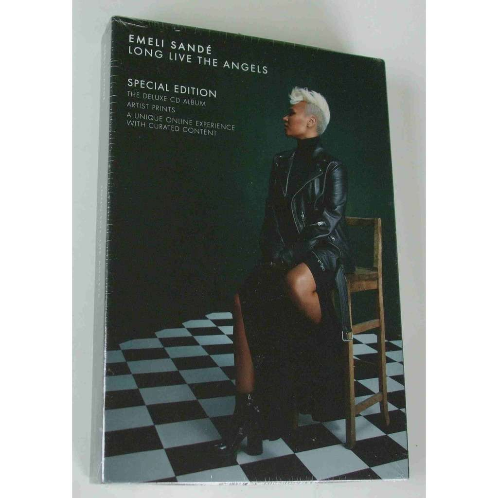 Emeli Sandé Long live the angels (Sepcial edition DELUXE CD ALBUM)