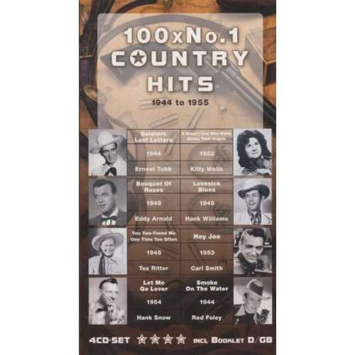 Compilation 100 X N°1 Country Hits 1944 - 1955