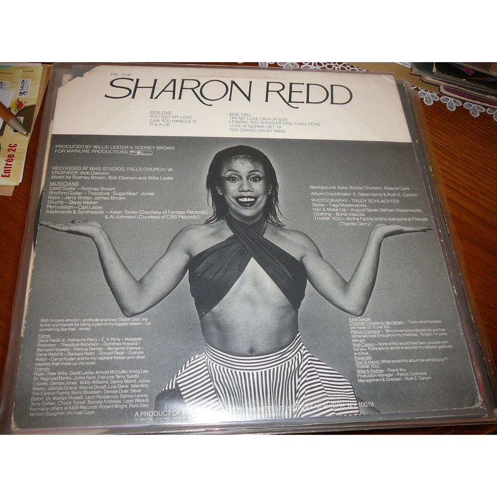 Sharon Redd Sharon Redd