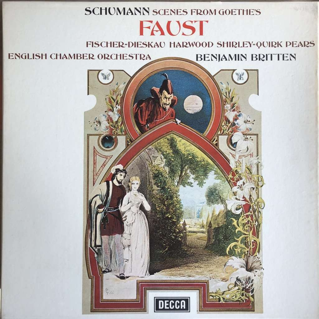Schumann / Fischer-Dieskau - Britten Scenes from Goethe's Faust (2 LP set)