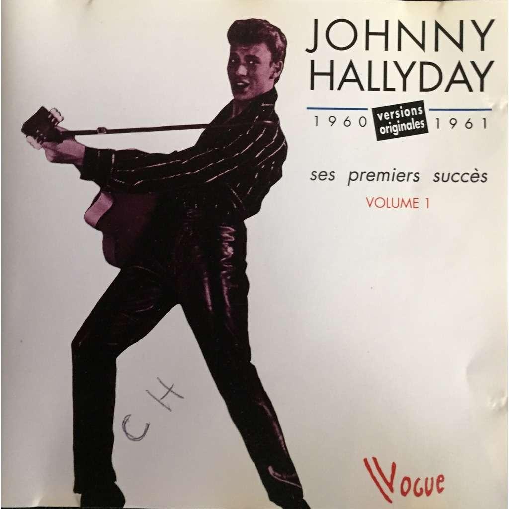 Johnny Hallyday Ses premiers succes - Volume 1 en public' (1960-1961)