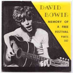 David Bowie Memory of a free festival part 1 et part 2
