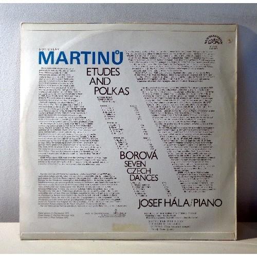 JOSEF HALA MARTINU Piano récital