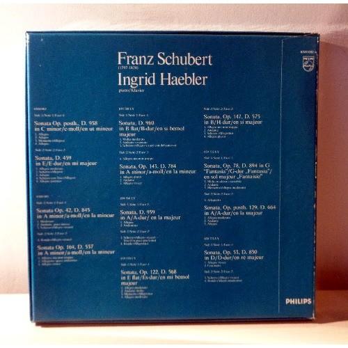 INGRID HAEBLER SCHUBERT Complete piano sonatas