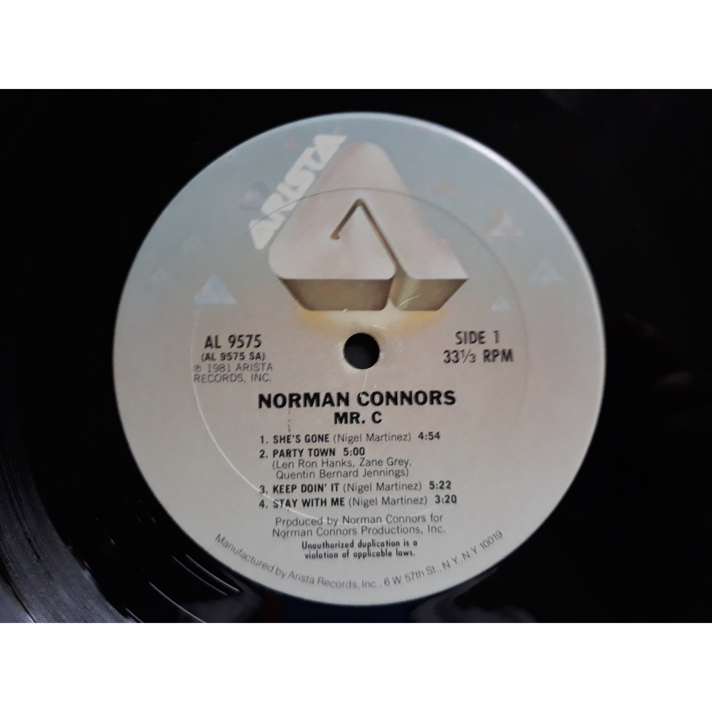 Norman Connors Mr. C