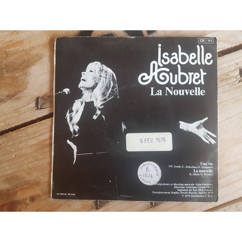 isabelle aubret une vie/la nouvelle
