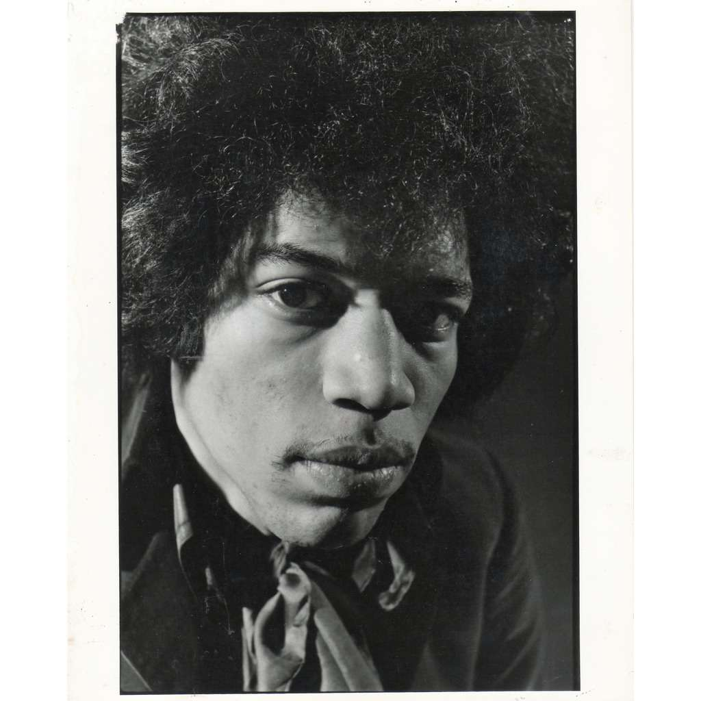 Jimi Hendrix Jimi Hendrix (USA 1986 original 'London Features' promo photo by S.K.R. !!)
