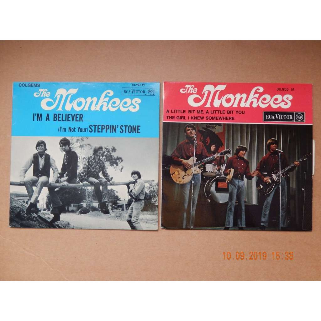 the monkees i'm a believer a little bit me a little bit you