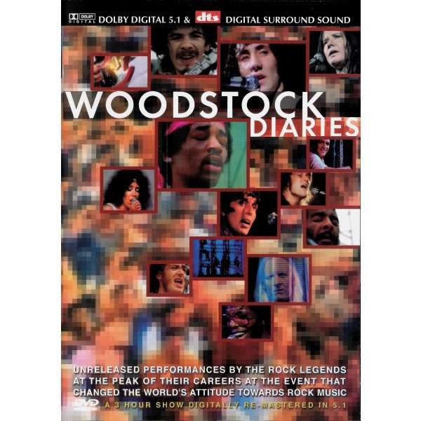 Richie Havens / Joan Baez / Santana a.o. Woodstock Diaries (DUAL LAYER / PAL)