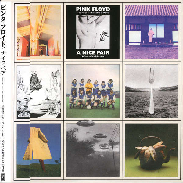 PINK FLOYD A NICE PAIR (mini-LP replica double CD in gatefold cardsleeve, 8page booklet, SEALED)