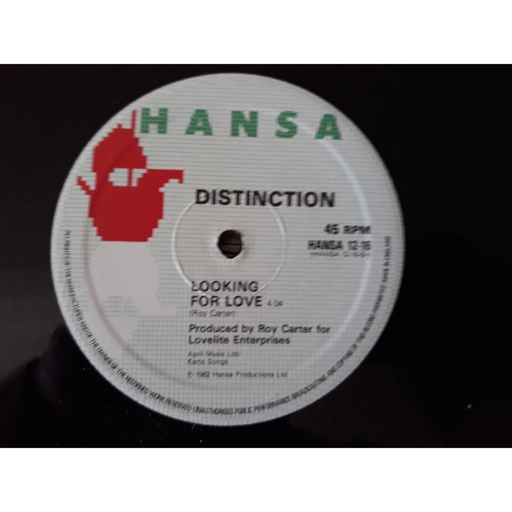DISTINCTION That's The Way I Like It RARE ITALO BOOGIE FUNK REISSUE 12