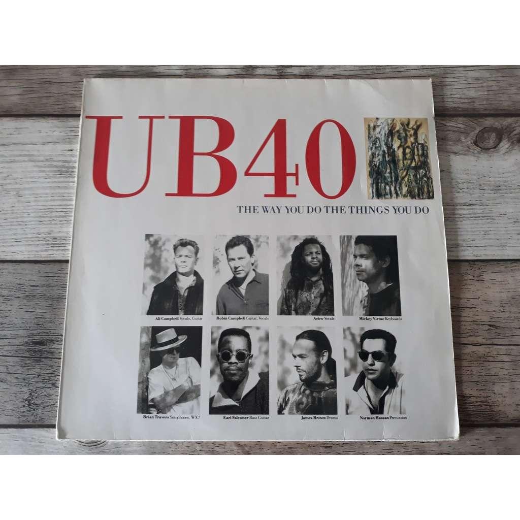 UB40 - The Way You Do The Things You Do (12, Maxi UB40 - The Way You Do The Things You Do (12, Maxi)