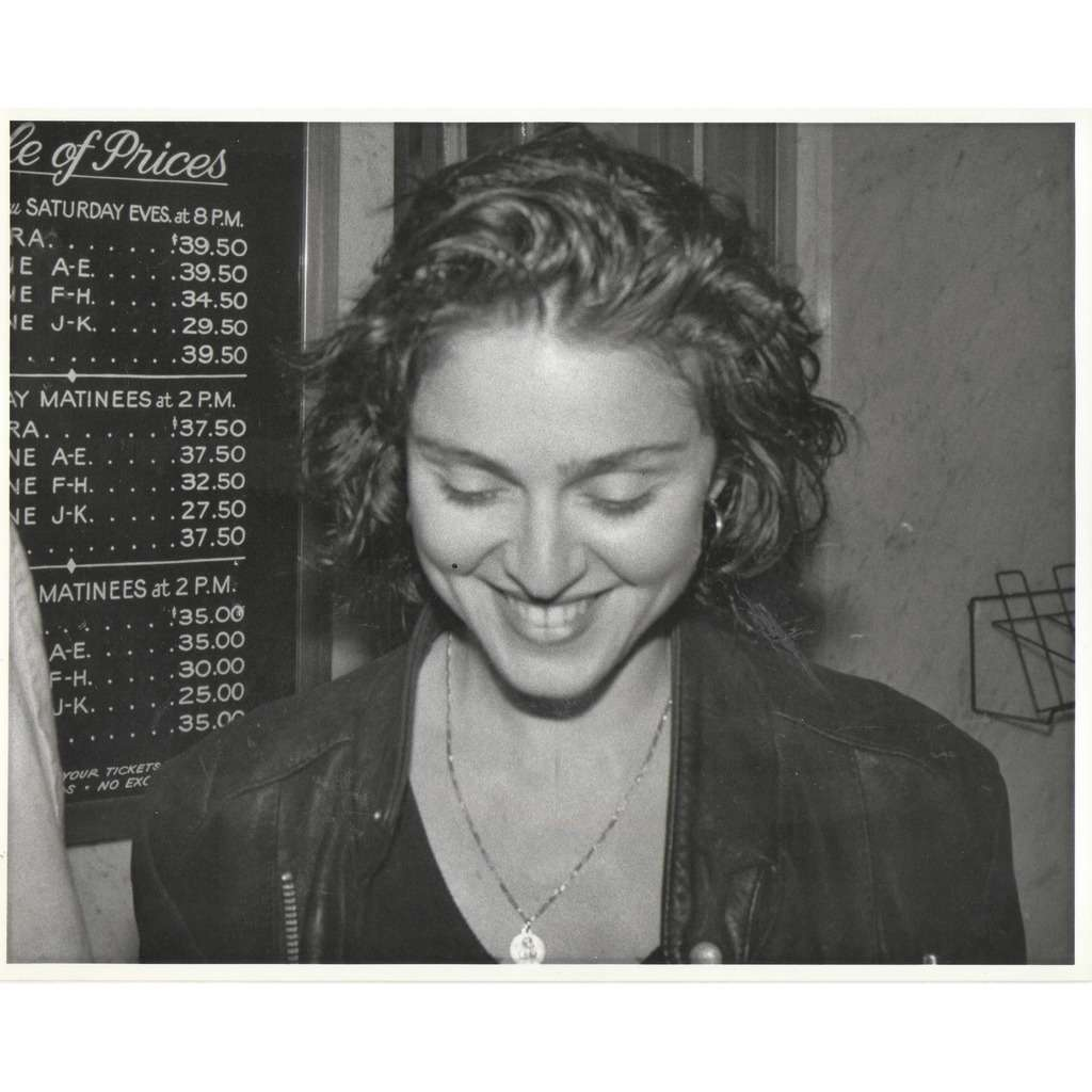 Madonna Madonna (Usa early 80s original 'London Features' promo live photo by Judie Burstein')