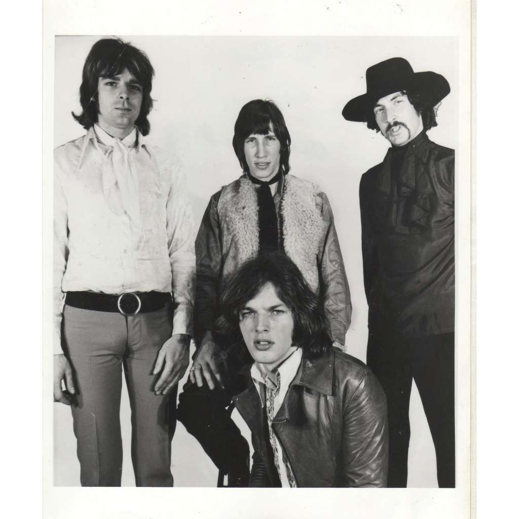 Pink Floyd Pink Floyd (Usa early 70s original 'London Features' promo photo by LF)
