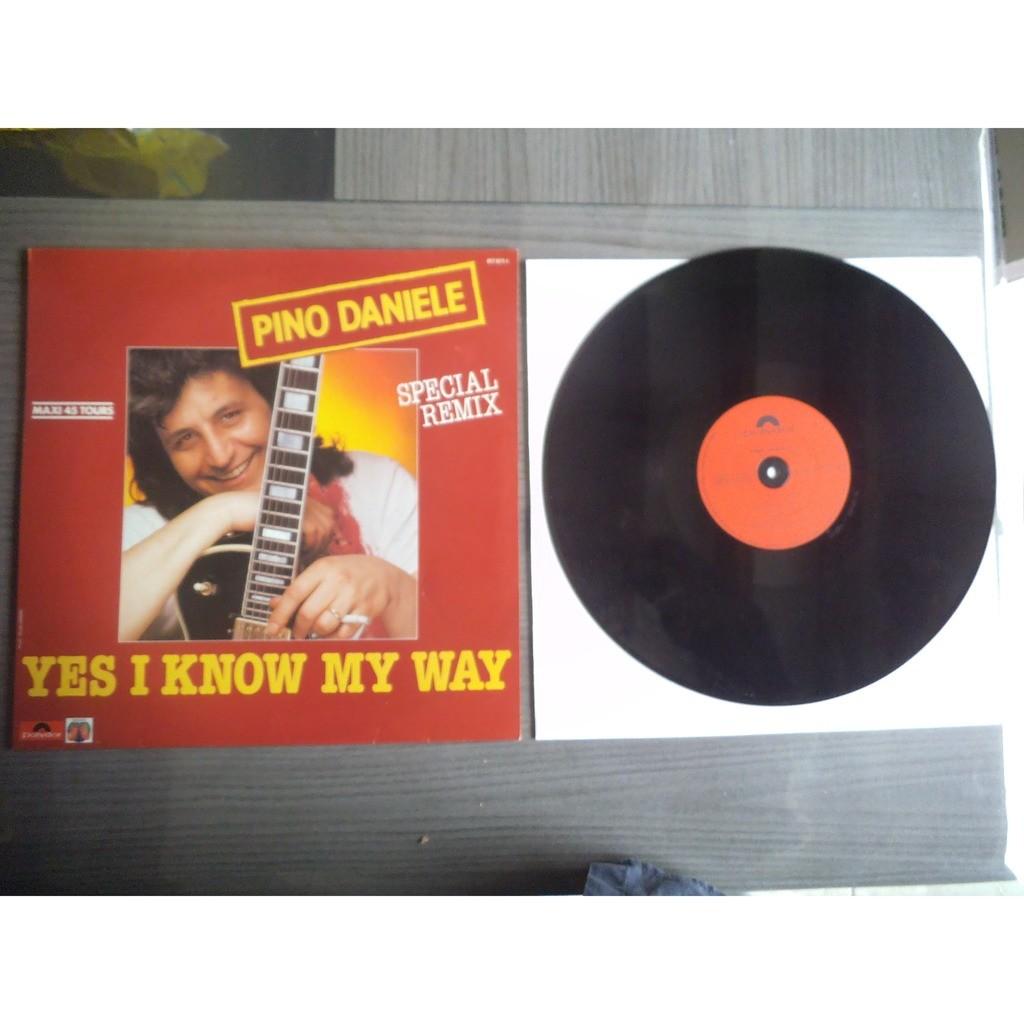 Pino DANIELE yes i know my way ( special remix ) / yes i know my way ( instrumental )