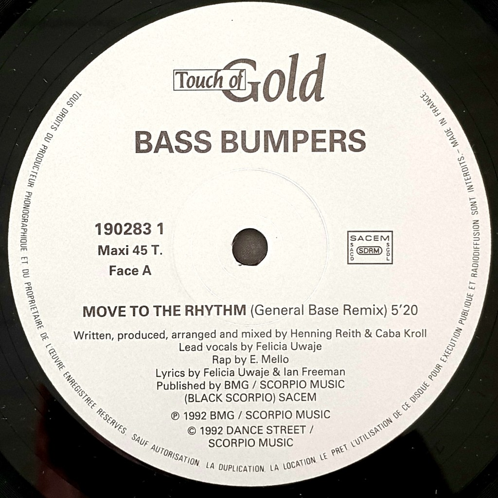 BASS BUMPERS BASS BUMPERS °° MOVE TO THE RHYTHM