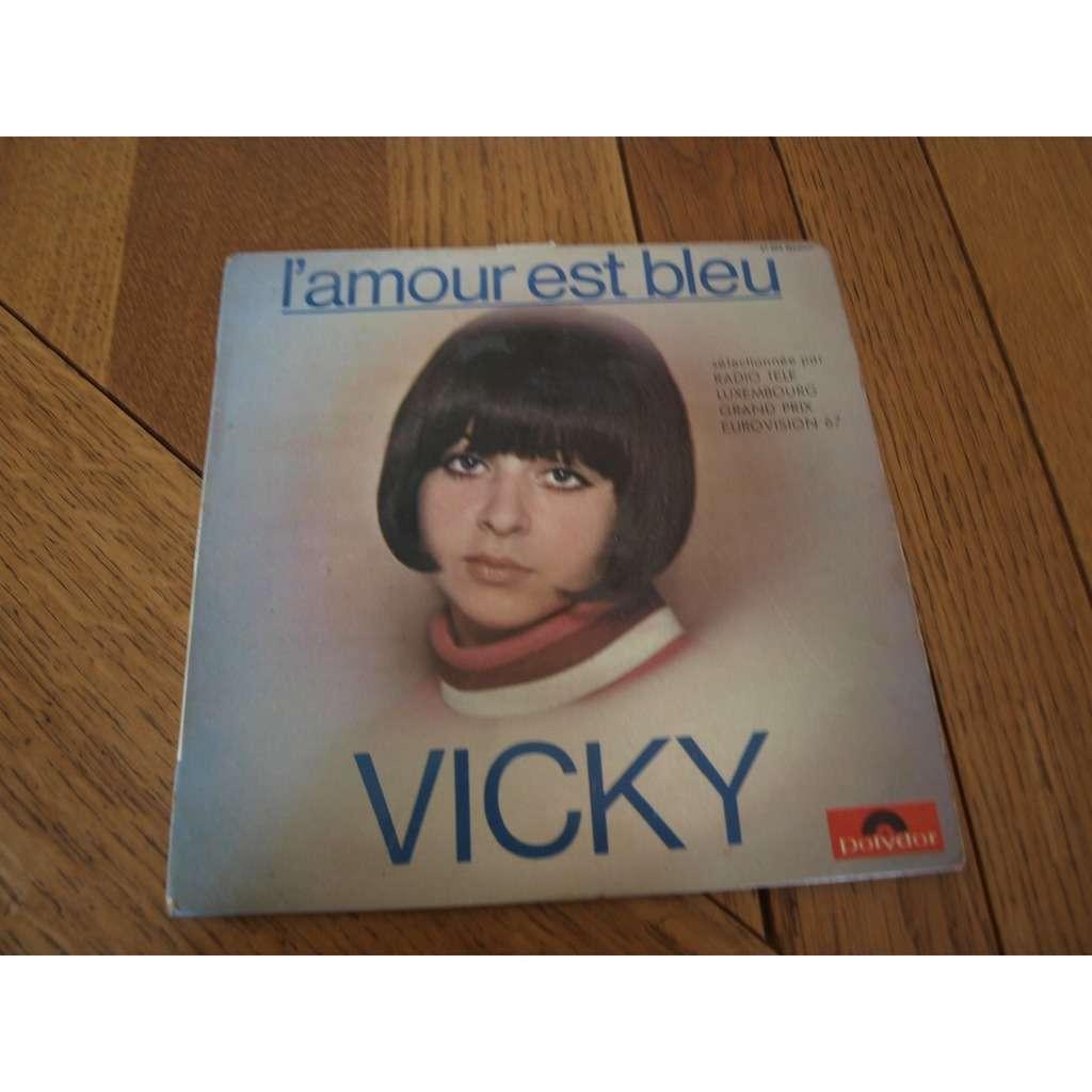 vicky l amour est bleu