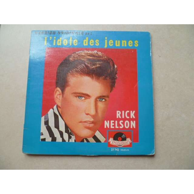 rick nelson teen age idol /thank you darling/l've got my eyes on you