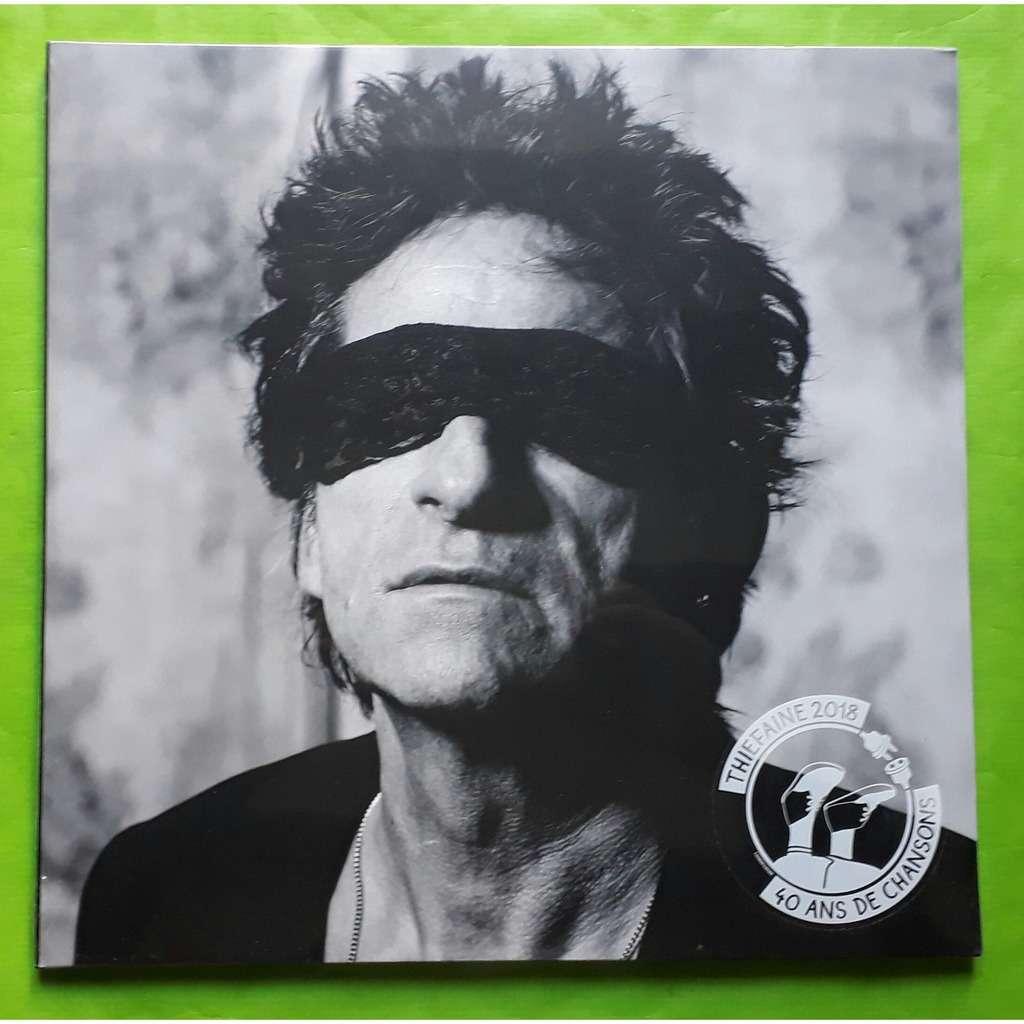 HUBERT FELIX THIEFAINE STRATEGIE DE L'INESPOIR -(Limited édition)(2LP)(Black vinyl)&(Getefold sleeve)(Original)(France)
