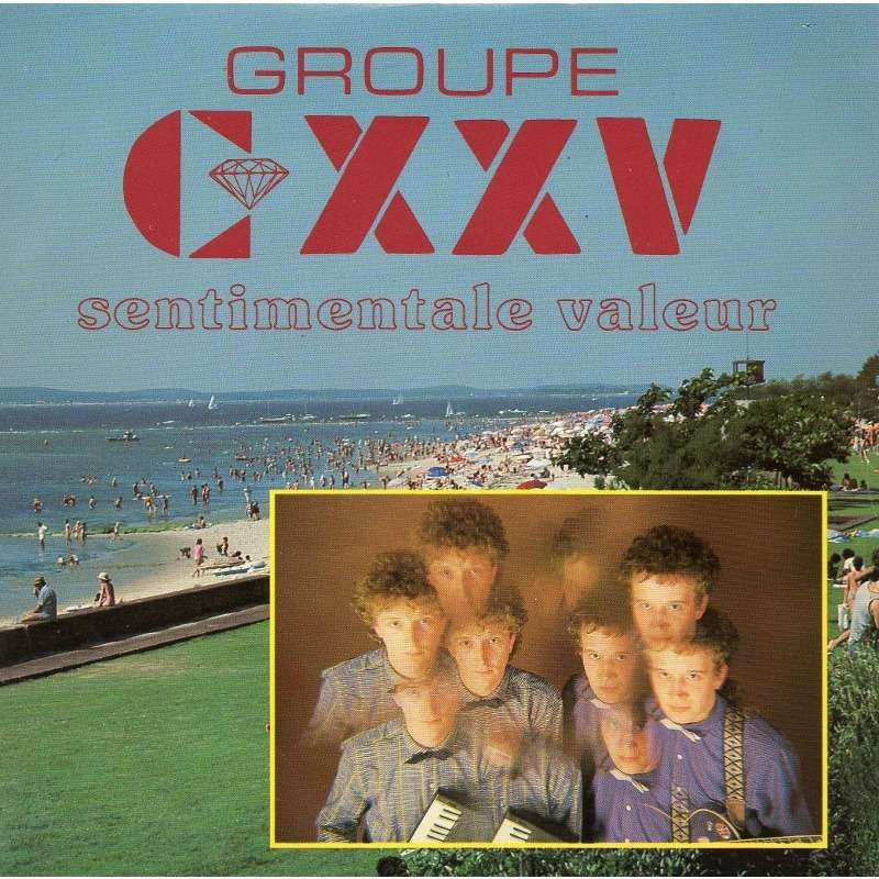 GROUPE CXXV / GROUPE 125 Sentimentale valeur (rare promo only French press - 1988)
