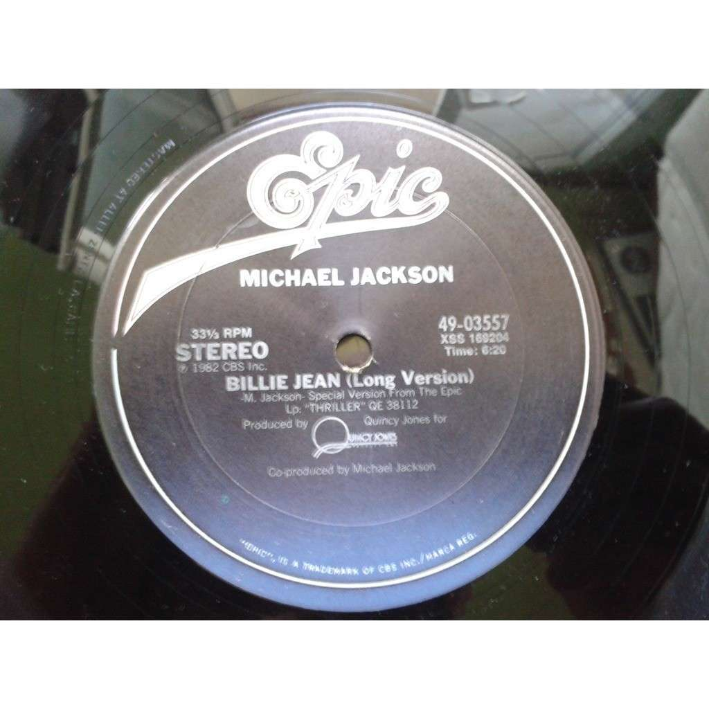 Michael Jackson - Billie Jean (12) Billie Jean (Long Version)