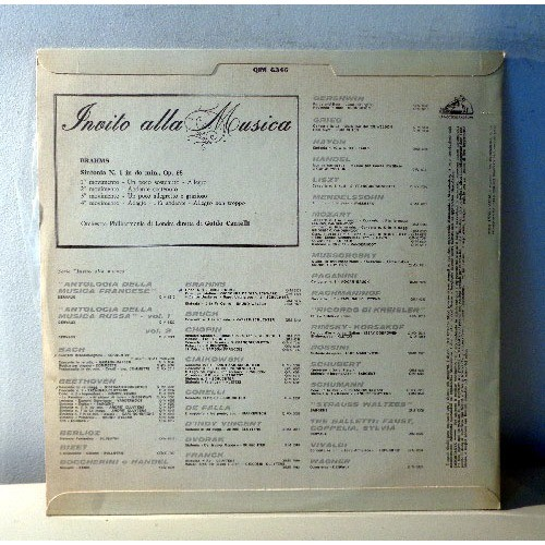 GUIDO CANTELLI BRAHMS Symphonie n°1