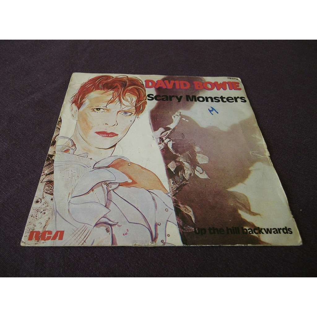 david bowie Scary Monsters / Up The Hill Backwards