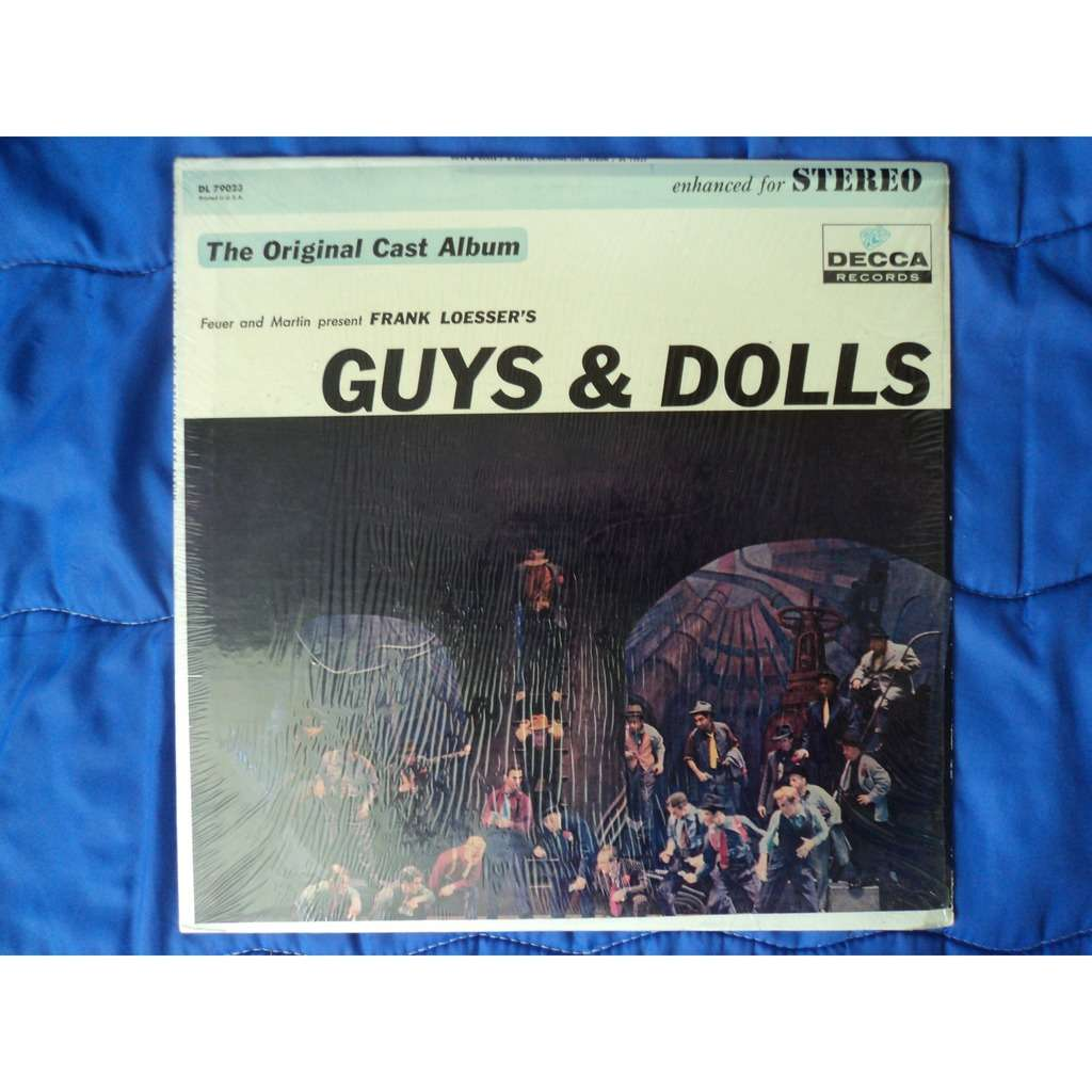 Frank Loesser Guys & Dolls: A Musical Fable Of Broadway