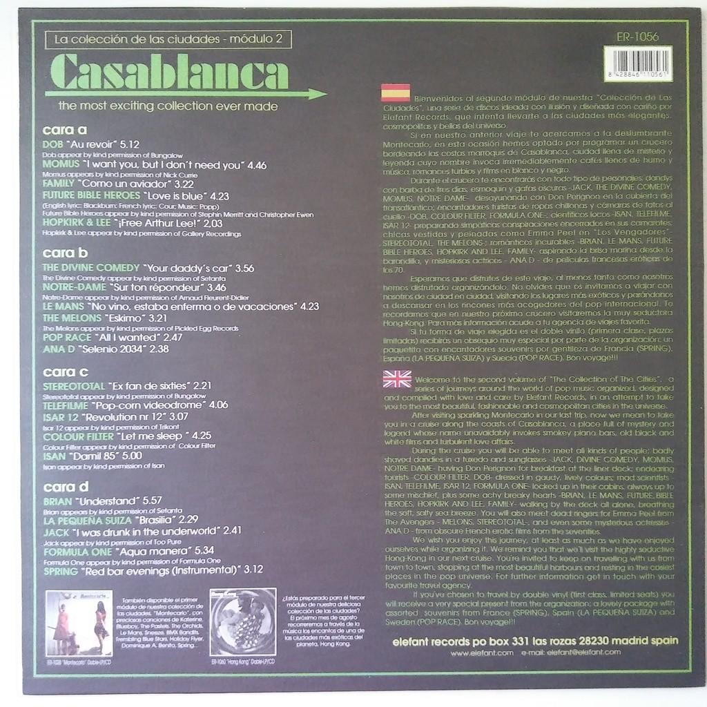 various Casablanca
